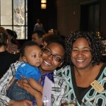 Shantell,  Jasiah and her Open Arms doula, Yvette