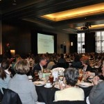 Attendees listen to Dr. Danielson's keynote address